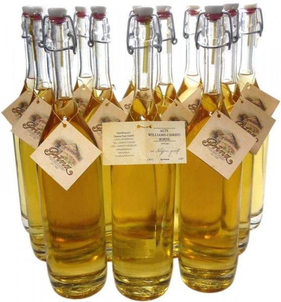 18 Flaschen Prinz Alte Williams Christ 0,5l im Holzfass gereift aus Österreich