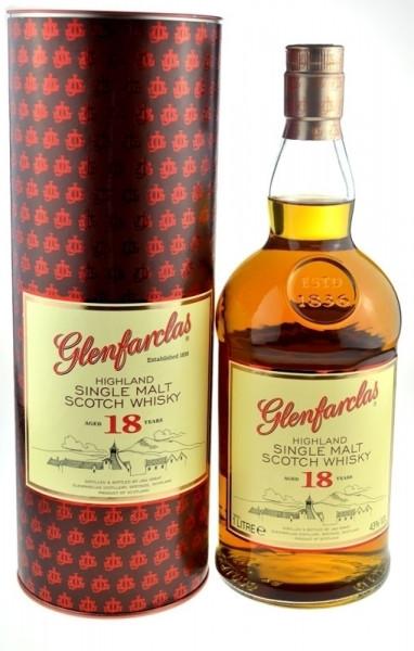 Glenfarclas Whisky 18 Jahre Originalabfüllung