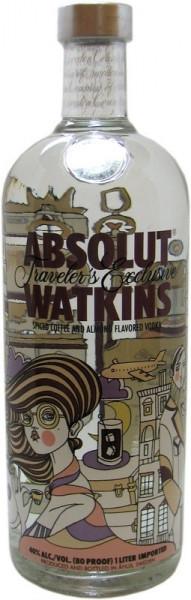 Absolut Watkin's Traveler's Exclusive Vodka