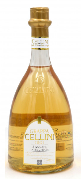 Grappa Cellini Oro 0,7l