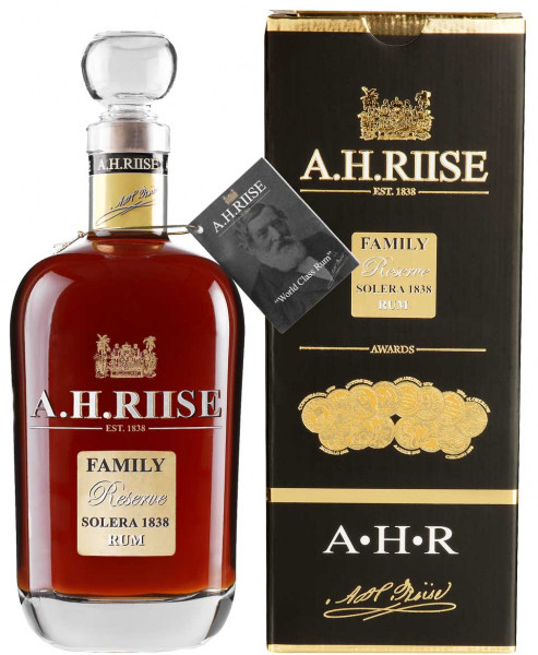 A.H.Riise Family Reserve Solera 1838 Rum 0,7l