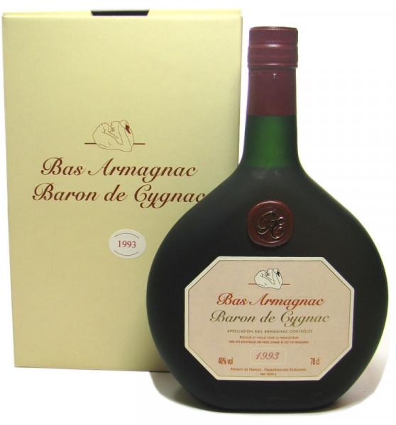 Armagnac Baron de Cygnac 0,7l Jahrgang 1993