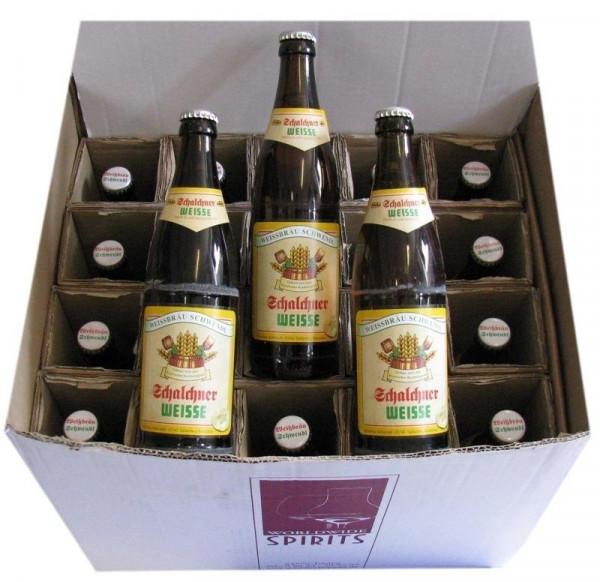 Schalchner Weisse Hell Bier 20x0,5l
