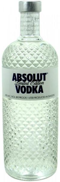Rarität: Absolut Glimmer Vodka 1,0l aus Schweden - Limited Edition