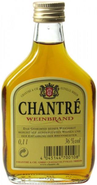 Chantre Weinbrand Taschenflasche