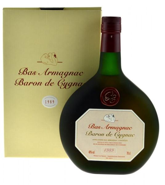 Armagnac Baron de Cygnac 0,7l Jahrgang 1989