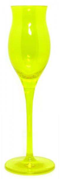 Ziegler Kvlt gelbes Ritzenhoff Obstbrandglas