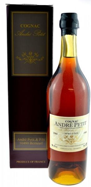 Andre Petit Jahrgang 1986 Hors D'Age Cognac