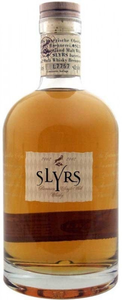 Slyrs Bayerischer Single Malt Whisky Jahrgang 2007 - limitierte Abfüllung