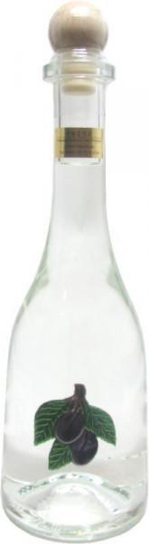 Prinz Pflümli ( Pflaumenschnaps ) 0,5l Spirituose aus Österreich in Rustikaflasche mit Pflaumen-Fruc