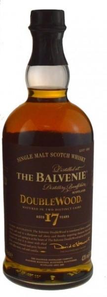 The Balvenie Double Wood 17 Jahre 0,7l mit Geschenkdose - Single Malt Scotch Whisky