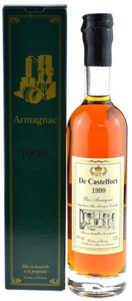 De Castelfort Armagnac Jahrgang 1999 - abgefüllt 2009 - 10 Jahre im Fass gelagert