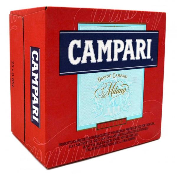 Campari Bitter Likör 25x0,04l