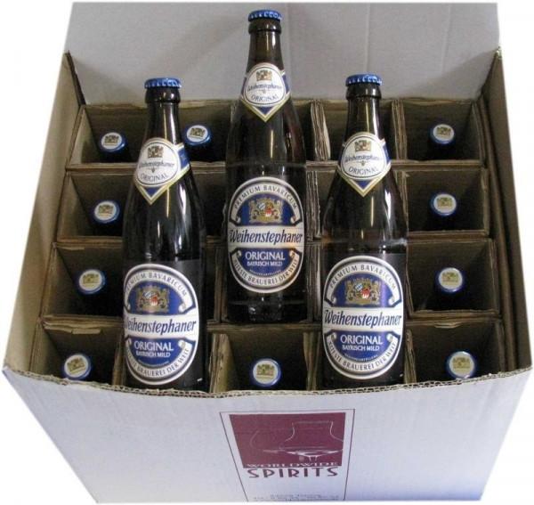 Weihenstephaner Original Hell Bier 20x0,5l