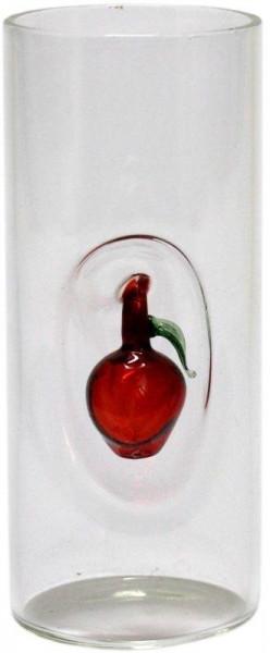 Prinz Stamperl Glas 2cl mit Fruchtmotiv Apfel