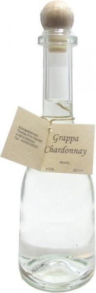 Grappa Chardonnay 0,5l in Rustikaflasche - Abfüller Prinz