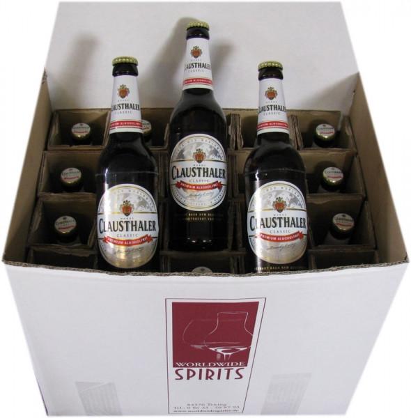Clausthaler Classic Alkoholfreies Bier 20x0,5l