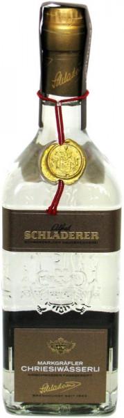 Schladerer Markgräfler Chriesiwässerli Kirschwasser