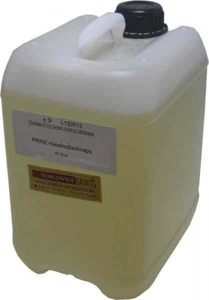 Prinz Haselnussschnaps 5 Liter Kanister Spirituose aus Österreich