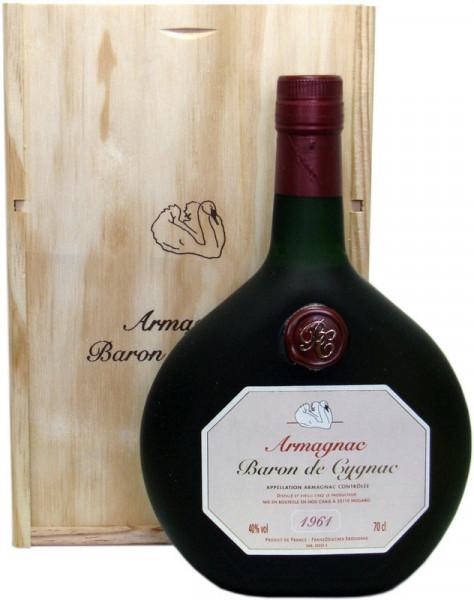 Armagnac Baron de Cygnac Jahrgang 1961