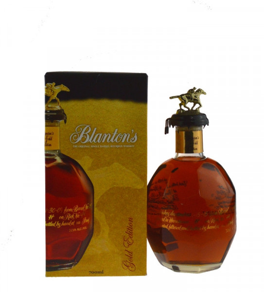 Blanton's Gold Edition 0,7l mit 51,5% vol. inkl. Geschenkkarton - Single Barrel Bourbon Whiskey