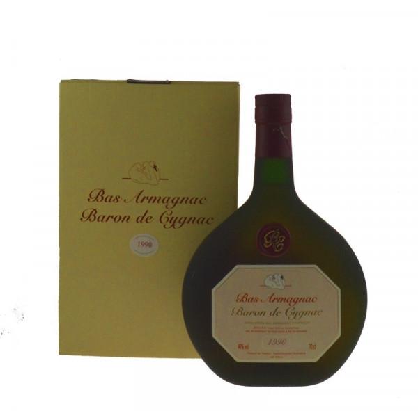 Armagnac Baron de Cygnac 0,7l Jahrgang 1990