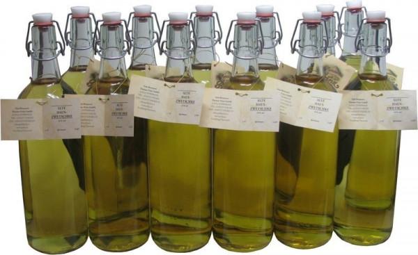12 Flaschen Prinz Alte Haus-Zwetschke 1,0l - holzfassgereift aus Österreich