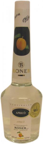 Roner Apricó 0,7l - 40% vol. - Aprikosen Spirituose aus Südtirol