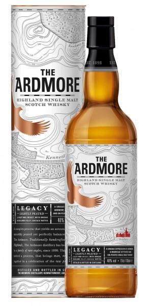 The Ardmore Legacy 0,7l - Highland Single Malt Scotch Whisky mit Geschenkdose
