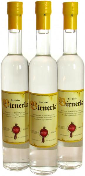 3 Flaschen Prinz Birnerla ( Birnenschnaps ) 0,5l aus Österreich