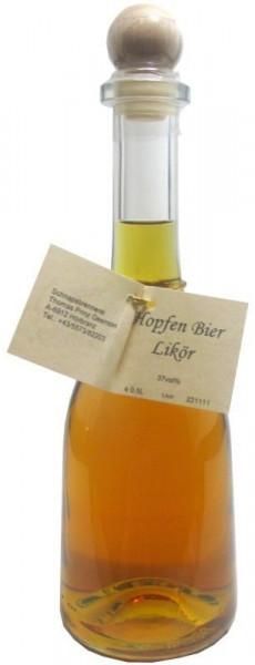 Prinz Hopfen-Bierlikör 0,5l in Rustikaflasche aus Österreich