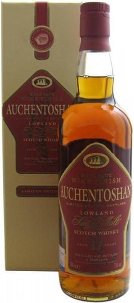 Auchentoshan Whisky 17 Jahre 0,7l Bordeaux F.