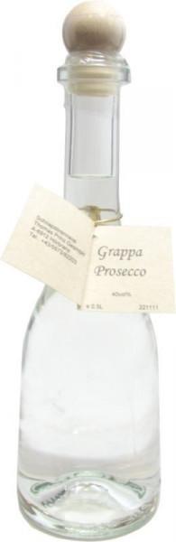 Grappa Prosecco 0,5l in Rustikaflasche - Abfüller Prinz