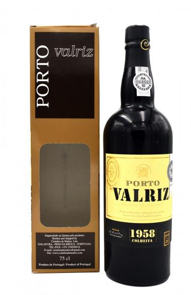 Porto Valriz 1958 Colheita Portwein