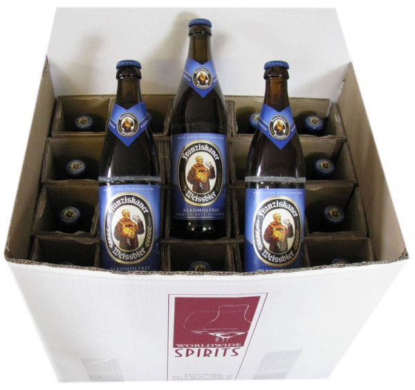 Franziskaner Weissbier alkoholfrei 20x0,5l