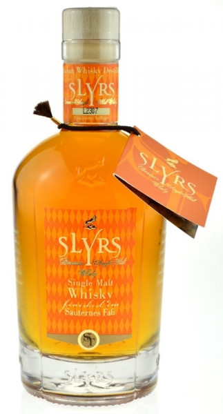 Slyrs Whisky finished im Sauternes Faß