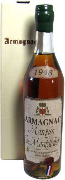 Marquis de Montdidier Jahrgang 1948 Armagnac