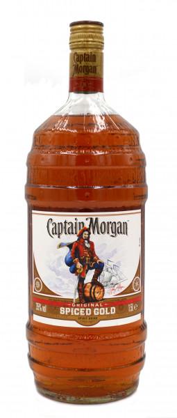 Captain Morgan Spiced Gold 1,5l Grossflasche