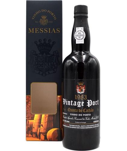 Rarität: Port Messias 0,75l Vintage 1983 - Jahrgang 1983 mit Geschenkpackung - Portwein