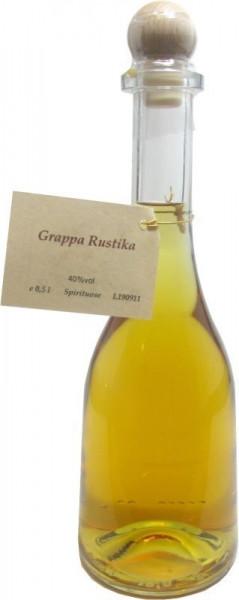 Grappa Rustika 0,5l in Rustikaflasche - Abfüller Prinz
