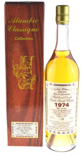 Invergordon Jahrgang 1974 Alambice Classique Rare&Old Selection