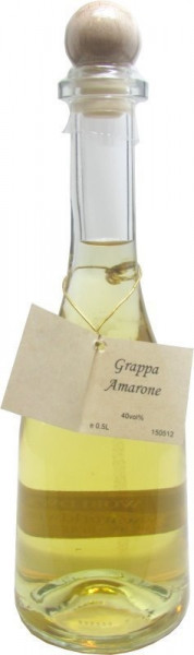 Prinz Grappa Amarone 0,5l in Rustikaflasche - Abfüller Prinz