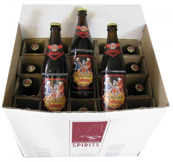 Paulaner Salvator Bier 20x0,5l