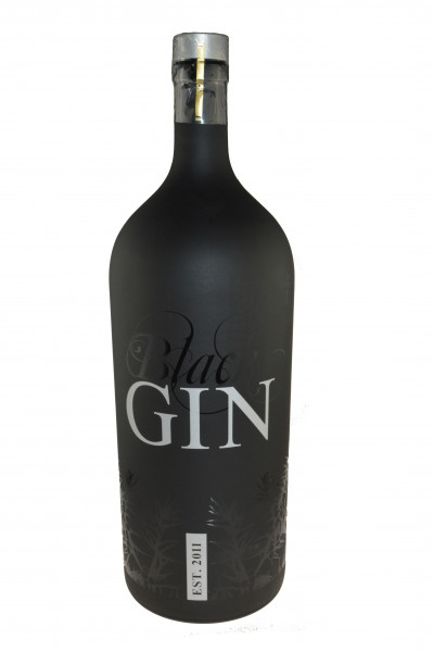 Gansloser Black Gin 6,0l Großflasche - Gin aus Deutschland