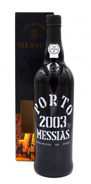 Port Messias Colheita Jahrgang 2003 mit Geschenkpackung - Portwein