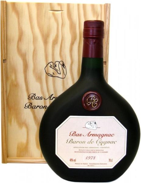 Armagnac Baron de Cygnac Jahrgang 1978