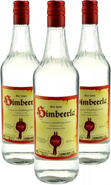 3 Flaschen Prinz Himbeerla 1,0l aus Österreich