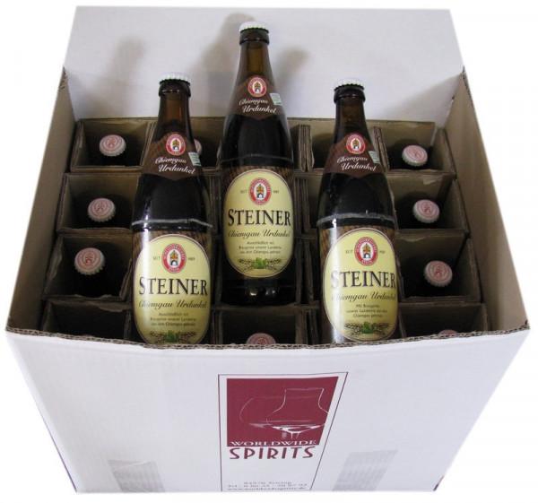 Steiner Chiemgau Urdunkel Bier 20x0,5l