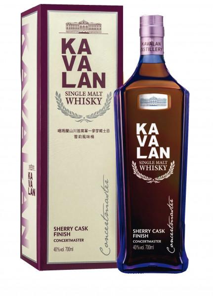 KaVaLan Concertmaster Sherry Cask Finish 0,7l