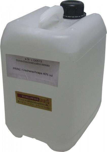 Prinz Kirschenschnaps ( Kirschwasser ) 5 Liter Kanister Spirituose aus Österreich